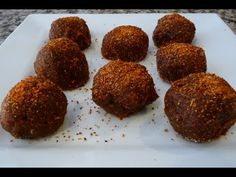 Receta Bolitas de Tamarindo (how to) - YouTube