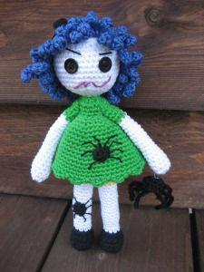 Halloween-Puppe Arachnea - toll!