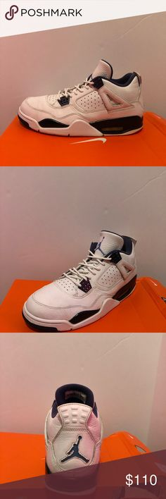 Jordan Colombia 4s Size 10 100% authentic  Ships next day  Pre-owned  8/10 condition Jordan Shoes Sneakers