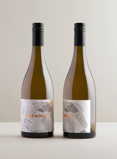 Pinemount Wines — Cloudy Co Design Wine Bottle Design, Wine Label Design, Bottle Packaging, Food Packaging, Brand Packaging, Wine Brands, Wine Decor, Wine And Spirits, Wine Labels