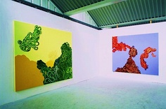 These are fab! 'Installation view Subspecies 7&8 ChelseaMA98' – by Robert Easson