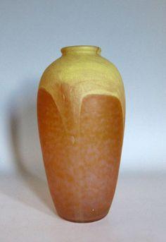 Schneider overlay vase