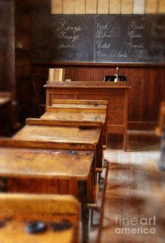 Vintage School Room Art Print by Jill Battaglia. All prints are professionally printed, packaged, and shipped within 3 - 4 business days. Choose from multiple sizes and hundreds of frame and mat options.