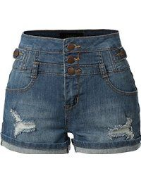 These stretchy high waisted denim jean shorts are a must have for this season! These inspired denim shorts provide a high rise fit with moderate stretch; High Waisted Denim Jeans, Denim Shorts, Stretch Shorts, Stretch Denim, Low Rise Skinny Jeans, Shorts With Pockets, Nordstrom, Aeropostale, Pants For Women