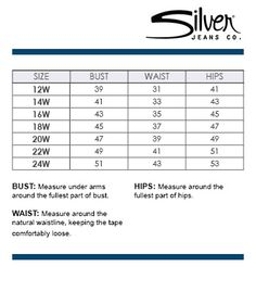 Kasper Plus Size Chart via Macys | Brand Name Plus Size Charts