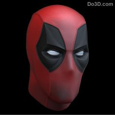 DEADPOOL mask PRE-ORDER from Deadpool movie by Superherotraditions Deadpool Mask, Deadpool Costume, Deadpool Movie, Comic Artist, Cool Costumes, Mask Design, Airsoft, Iron Man, Spiderman