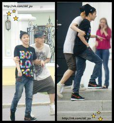 Luhan and Xiumin / EXO
