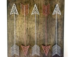 String Art geometrical string art String Art door ThreadTherapy1