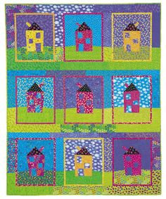 Free Quilt Pattern: In A Crooked Little House