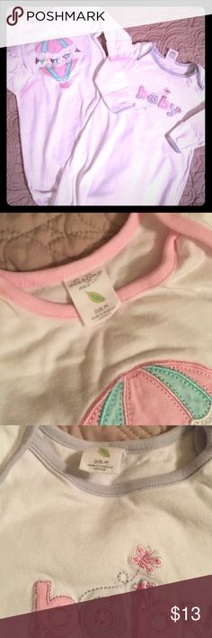 Sleeping Gowns 0-6M Washed. Never worn. Clean, smoke free home. Starting Out Pajamas Nightgowns