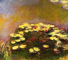 Water-Lilies / Claude Monet - 1914-1917