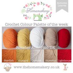 Autumn Leaves Crochet Color Palette