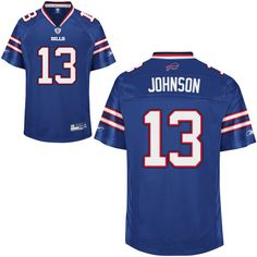 82f736384 reebok buffalo bills steve johnson 13 blue authentic jerseys sale