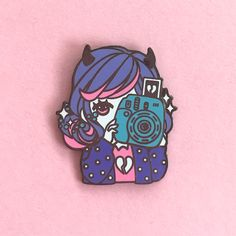 Tears Enamel Pin From Shiroi Room