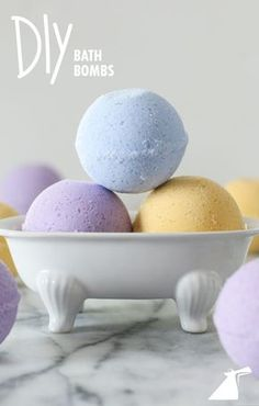 Relax like you're in Carnival's Cloud 9 Spa with these DIY bath bombs.