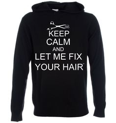 A hoodie that describes my time with a couple of students who were always insistent about making sure my new haircut was absolutely perfect!  Thanks Tay! ; )
