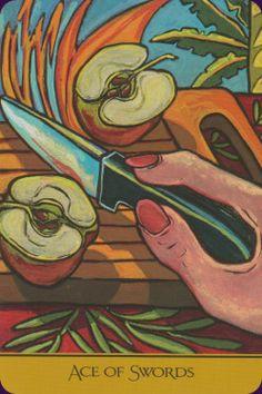Ace of Swords - The Cook's Tarot