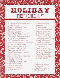This Holiday Season, you don't want to miss a thing! I have completed this awesome Holiday Checklist to help you capture some fun Christmas Memories! Christmas Books, All Things Christmas, Holiday Fun, Christmas Holidays, Christmas Ideas, Christmas Charts, Christmas Movies List, Christmas Thoughts, Holiday Games