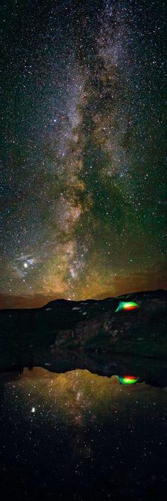 Fall Camping near Aspen Colorado