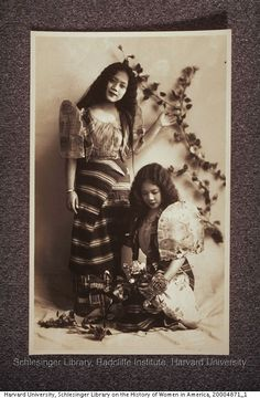Portraits of Filipino beauty queens 1930