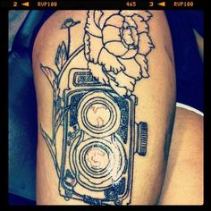 Love camera tattoos