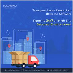 Running on the secured environment, ultimate cloud based solution for Logistics & amp; For more details contact us at @ - Analytics Dashboard, Never Sleep, Cloud Based, Transport Logistics, Stuff To Do, Transportation, Software, Environment, Management