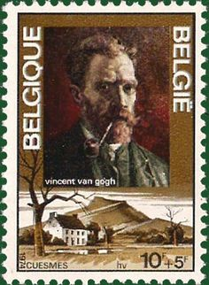 Vincent Van Gogh Paintings on stamps