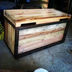 Cool 40+ Cheap Pallet Storage Projects You Can Make Yourself https://homegardenmagz.com/40-cheap-pallet-storage-projects-you-can-make-yourself/
