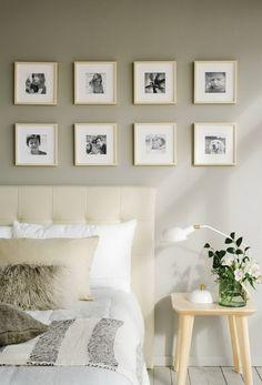 Decorar dormitorios con fotos Bedroom Decor, Wall Decor, Ikea, Interior Decorating, Interior Design, Creative Walls, New Room, Home Art, The Help