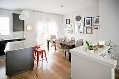 Suzannah & Jason's Did-it-Themselves Townhome House Tour | Apartment Therapy