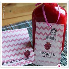 Himbeergrüße Post aus Miss Herzfrischs Küche