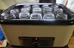 Retirement and Back to the Basics: Using an Electric Roaster While Canning to keep your jars hot