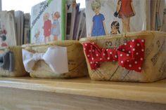 Ideias para Reciclar Potes de Sorvete Foto: Home-dzine.co.za