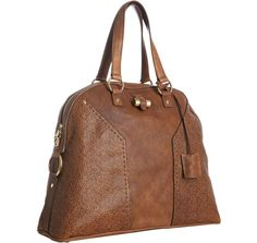 The shape of this weekender bag is really nice. by Yves Saint Laurent