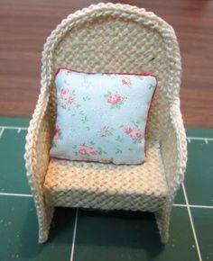 How To Easy Miniature Garden Chairs