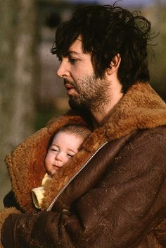 Paul McCartney with daughter Mary