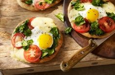 Breakfast Flatbread --These campfire gems can be made in your own back yard, using a barbeque or portable grill. Set up a tent and make it a backyard adventure for you and the kids.