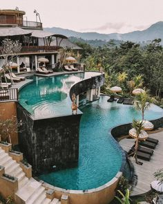 Ubud, Bali😍 cc: // Tag someone you ❤ Vacation Places, Vacation Ideas, Dream Vacations, Vacation Shirts, Vacation Pictures, Dream Home Design, House Design, Design Homes, Sky Design