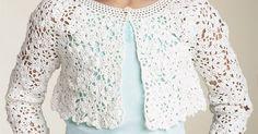MyPicot | Free crochet patterns | Boleros manga corta y larga. | Pinterest | Boleros, Free Crochet and Crochet