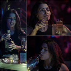 Sarah Shahi.. Shaw and always tequila :)