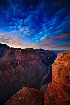 Grand Canyon and Colorado River  Toroweap in Grand Canyon National Park || Adam Schallau Photography