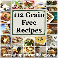Grain Free Recipe Roundup