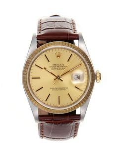 Vintage AND a Rolex. Do watches get any better? Vintage Rolex Rolex Datejust Watch