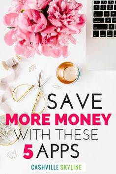 These are my favorite money saving apps! I've used these apps to save $100+ extra per month. Saving money has helped me pay off debt, build an emergency fund, and invest! via @CashvilleSky