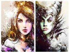 Sleeping Beauty - Maleficent by ~VVernacatola on deviantART