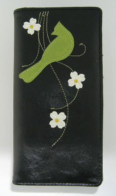 Jay bird vegan/faux leather large wallet - LAVISHY Boutique
