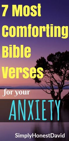 7 Bible Verses that help with our Anxiety. Comforting for sure! Bible Studies For Beginners, Bible Study Tips, Bible Verses Quotes Inspirational, Fear Quotes, Christian Devotions, Christian Quotes, Christian Wife, Christian Living, Bible Verses About Fear