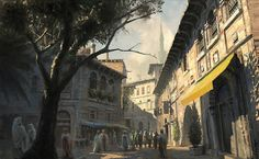 assassin's creed environmental concept art - Пошук Google