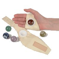 This is such a unique idea for a massage accessory! Click to enlarge...