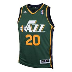 043018d4d49 Utah Jazz NBA Gordon Hayward 20 Youth Alternate Swingman Jersey Green XL  >>> For more information, visit image link.